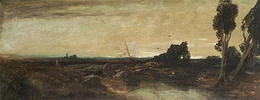 Stadler, Anton (Toni von)-Landschaft, wohl im