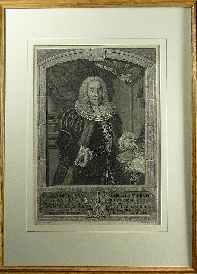 Windter, Johann Wilhelm Portrait des Sigmund