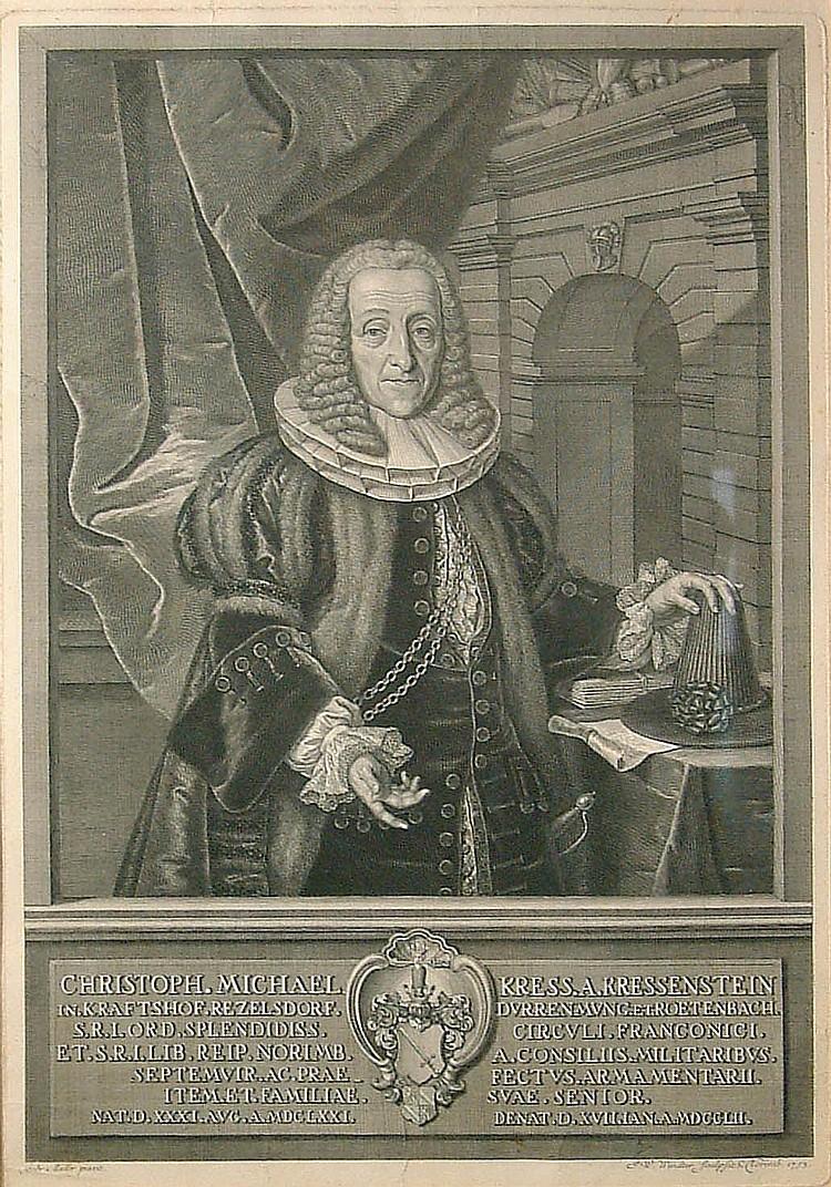 Windter, Johann Wilhelm Portrait des Christoph
