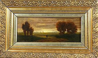 Santhó, Miklós (Nikolaus) Abendlandschaft