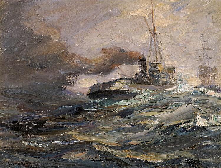 Schultz, Harry Marine (Elbing 1874-1958) Dampfer