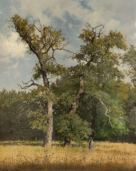 Knorr, Hugo-Eichen am Waldrand-(Königsberg