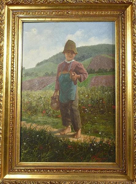Wagner, Alexander von-Kleiner Bauernbub-(Budapest