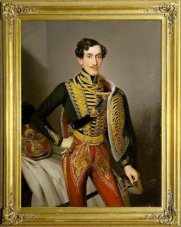 Frankenberger, Johann Großes Portrait eines Offiziers