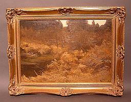 Bürgel, Hugo Am Seeufer (Landshut 1853-1903