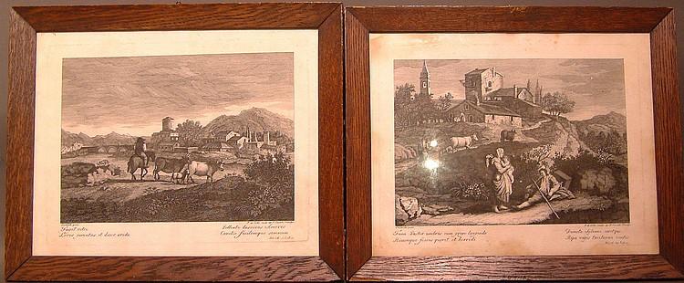 Colle, Pellegrino dal Zwei Landschaften mit Hirten