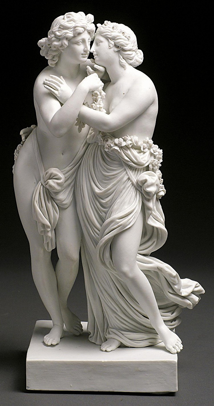 Amor und Psyche Meissen, 1774-1814 Modell wohl von