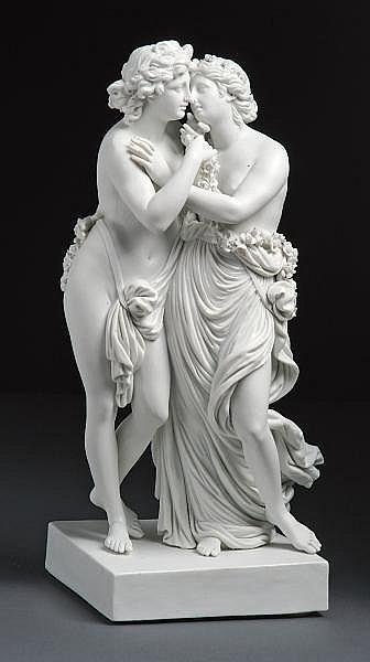 Amor und Psyche - Meissen, 1774-1814 - Modell von