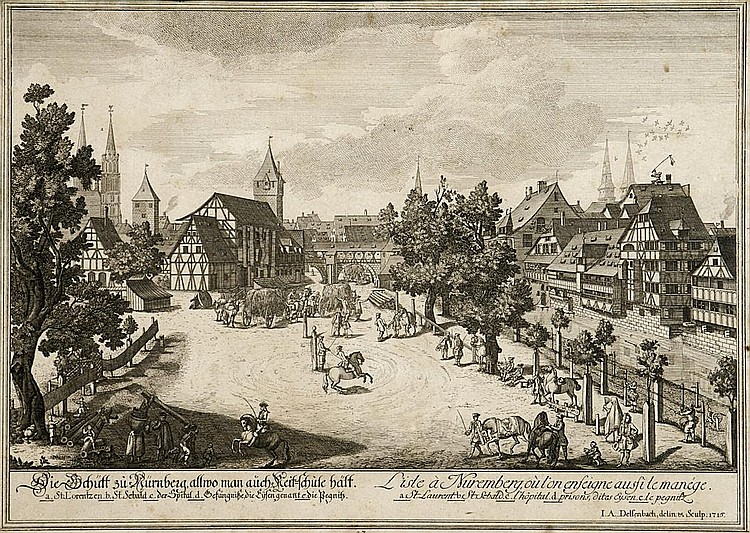 Nürnberg 20 Ansichten von Delsenbach 1. H. 18. Jh.