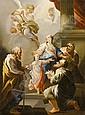 Sagrestani, Giovanni Camillo Madonna mit Kind und, Giovanni Camillo Sagrestani, Click for value