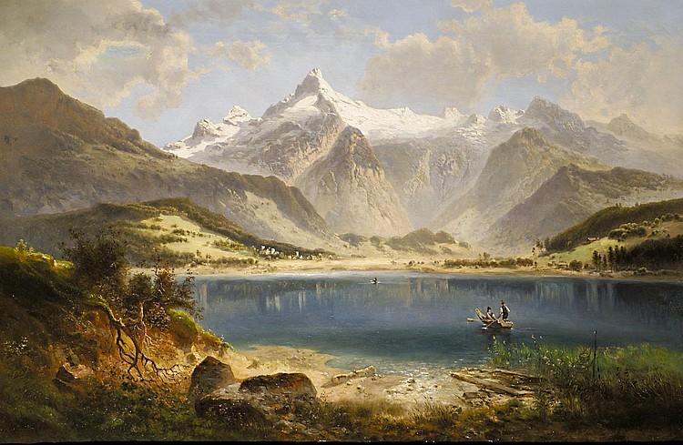 Feldhütter, Ferdinand Der Zellersee mit