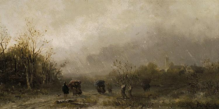 Wimmer, Conrad Winterlandschaft (München 1844-1905
