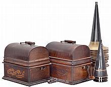 Phonographs- 2 (Two) Thomas A. Edison, Orange, NJ