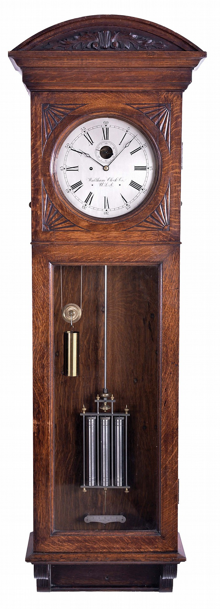 Waltham Clock Co Waltham Mass Quot Regulator No 14 Quot Jewel