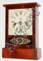 Waterbury Clock Co., Waterbury, Conn., 30 hour, time and strike, cottage clock, c1875