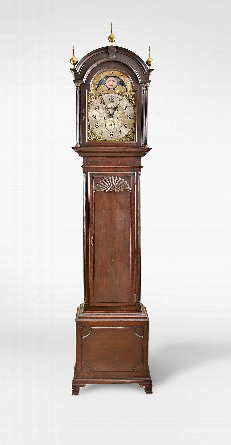 Bailey Banks Biddle Tall Clock With Unusual Chiming Move