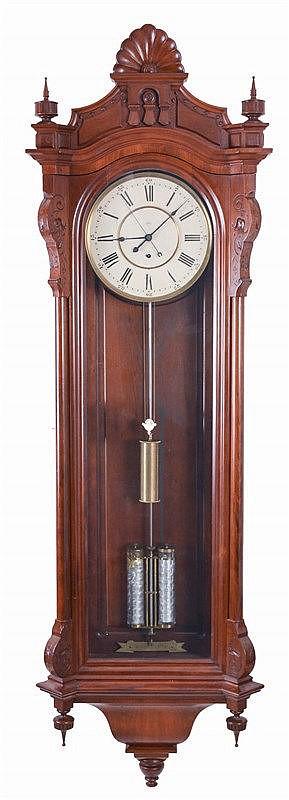Seth Thomas Clock Co Thomaston Conn Quot Regulator No 19 Quot