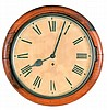 Clocks- 3 (Three) 8 day wood case wall clocks: Sessions
