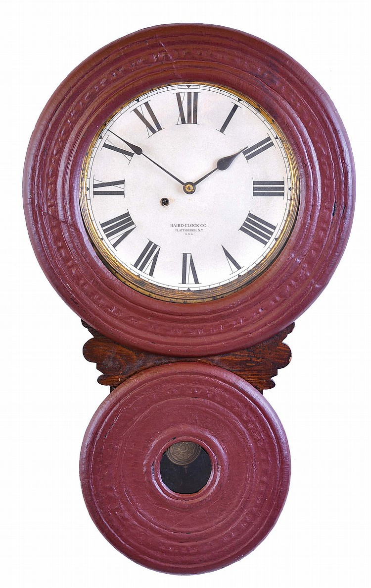Baird Clock, Co., Plattsburgh, NY,