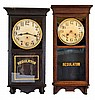 Clocks- 5 (Five): (1) Wm. L. Gilbert Clock Co., Winsted, Conn.