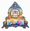 Clocks- 2 (Two): (1) Ansonia Clock Co., New York.