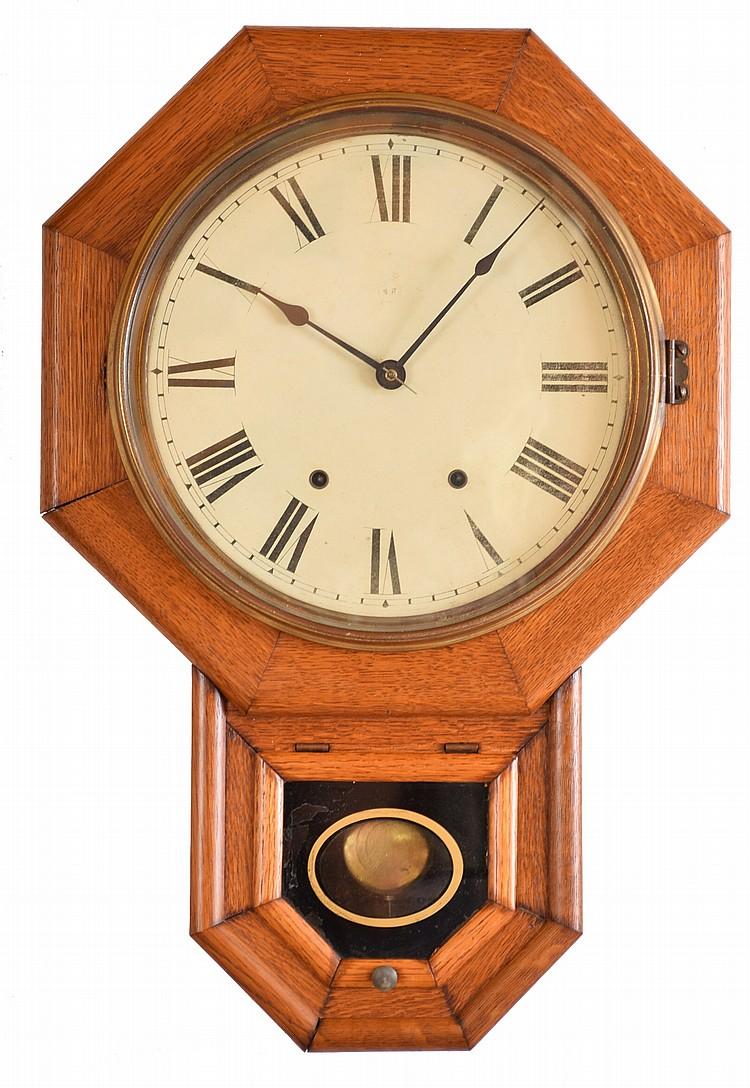 Clocks- 2 (Two): (1) Seth Thomas Clock Co., Thomaston, Conn.,