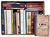 Books- first box is many books and antiques, machine tools, furniture and other collectibles; second box is a large softcover lot of auction, tools and parts catalogues, plus booklets, magazines and pamphlets on horology, furniture, hardware and