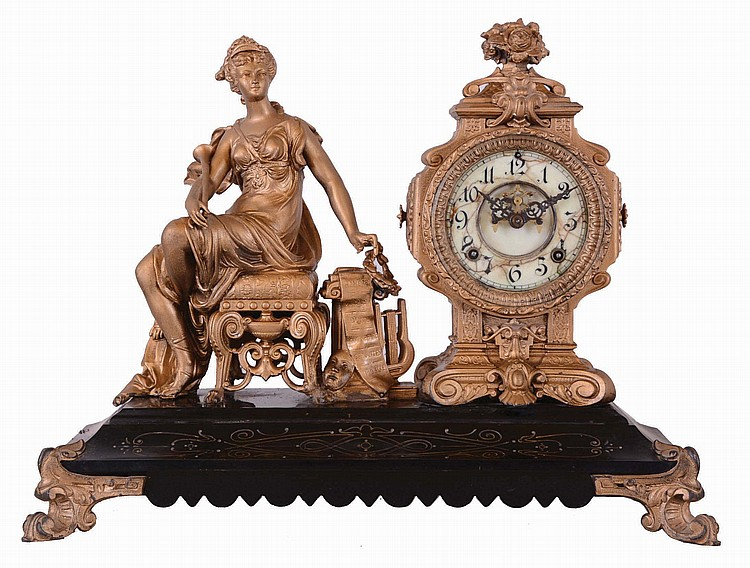 Ansonia Clock Co., New York, NY,