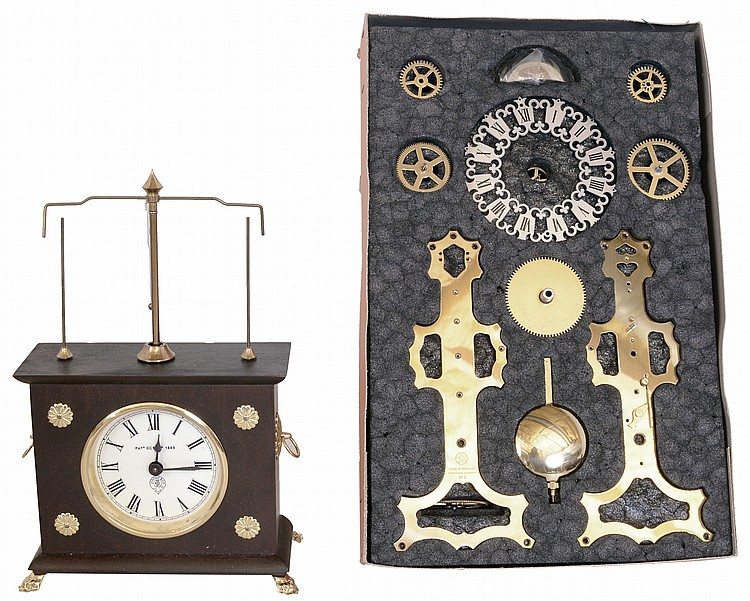 Clocks- 2 (Two) modern reproductions, new old stock- (1) The Horolovar Co.,