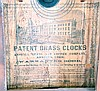 Clocks- 6 (Six): (1) William S. Sperry, New York, 8 day, time, strike and alarm weight brass movement OG shelf clock, c1845 (2) Union Manufacturing Co., Bristol, Conn., 30 hour, time and strike weight brass movement OG shelf clock, c1845 (3) Ansonia