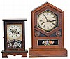 Clocks- 2 (Two): (1) William L. Gilbert Clock Co., Winsted, Conn.,