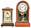 Clocks- 2 (Two): (1) Waterbury Clock Co., Waterbury, Conn.,