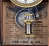 Clocks- 5 (Five): (1) Seth Thomas Clock Co., Thomaston, Conn.,