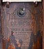 Clocks- 4 (Four): (1) Smith & Goodrich, Bristol, Conn., 30 hour, time and strike weight brass movement OG shelf clock, c1850 (2) E. N. Welch Mfg. Co., Forestville, Conn., 30 hour, time and strike spring brass movement OOG shelf clock, c1870 (3)