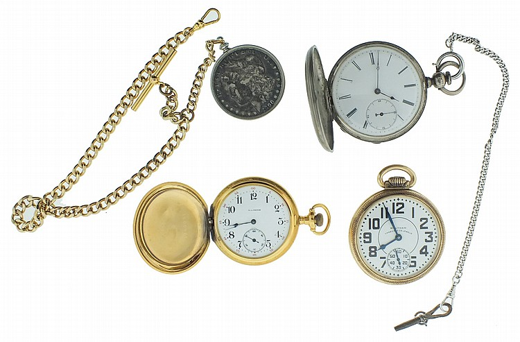 Pocket watches- 3 (Three), the first a 16 size Waltham