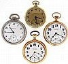 Pocket watches- 4 (Four), the first a 16 size Hamilton