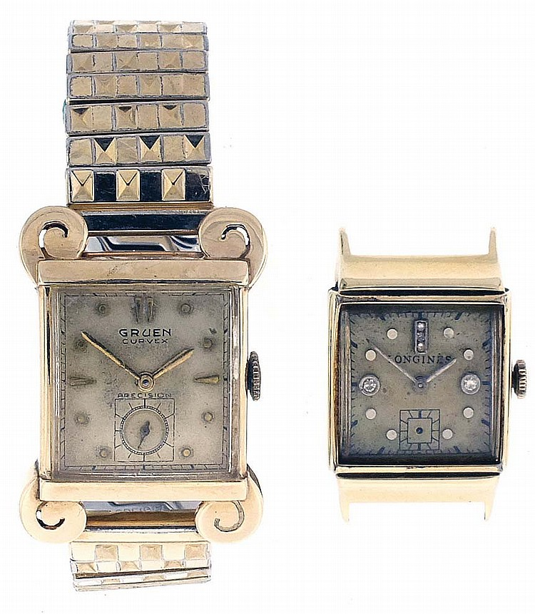 Wrist watches- 2 (Two). The first a 17 jewel Gruen