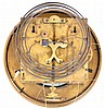 Vienna Regulator, unsigned 8 day 3 weight quarter striking walnut hanging wall clock