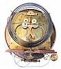 Jos. Lederer, Wien, Austria 3- weight grand sonnerie walnut Vienna Regulator wall clock