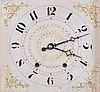 Wadsworth, Lounsbury & Turner, Litchfield, Conn., 30 hour, time and strike weight wood movement pillar & scroll shelf clock.