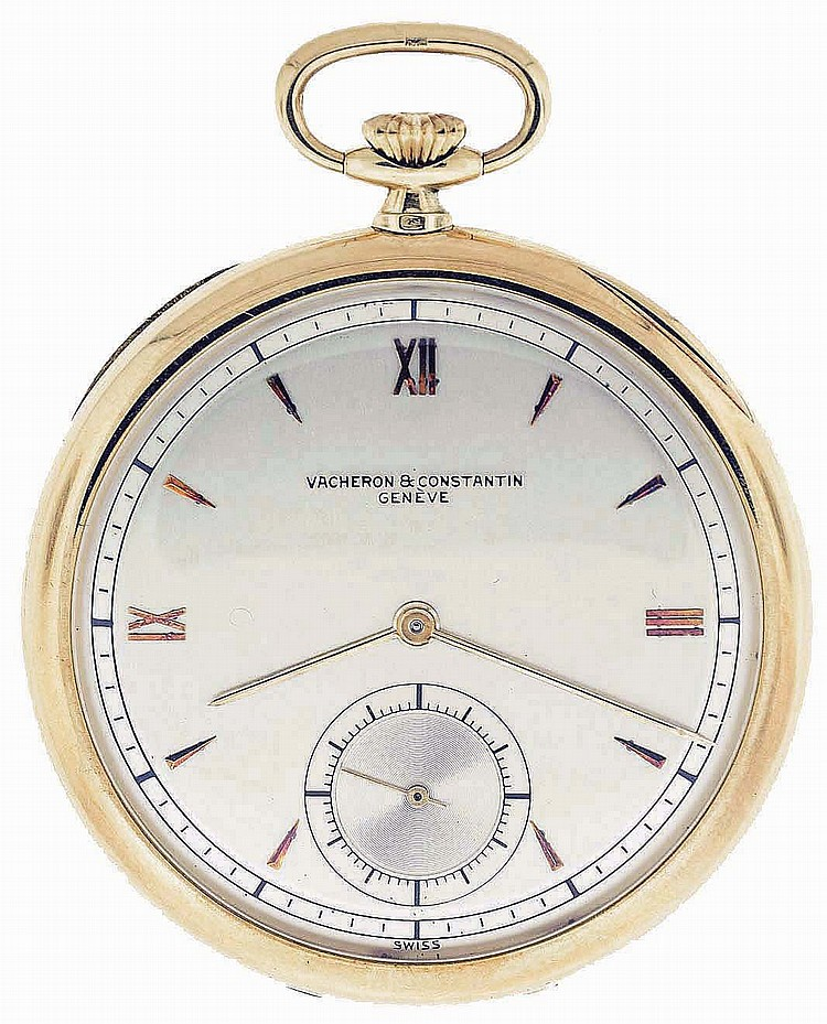 Vacheron & Constantin, Geneva, Switzerland, man's dress watch, calibre V 439, 17 jewels, stem wind and set, adjusted, cotes de Geneve decorated nickel bar movement with lever escapement, cut bimetallic balance and micrometric regulator in an 18