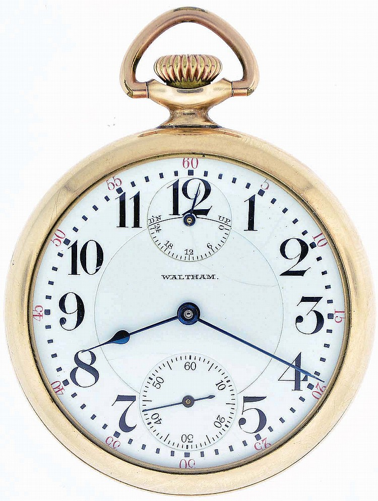 American Waltham Watch Co, Waltham, Mass., model 1908