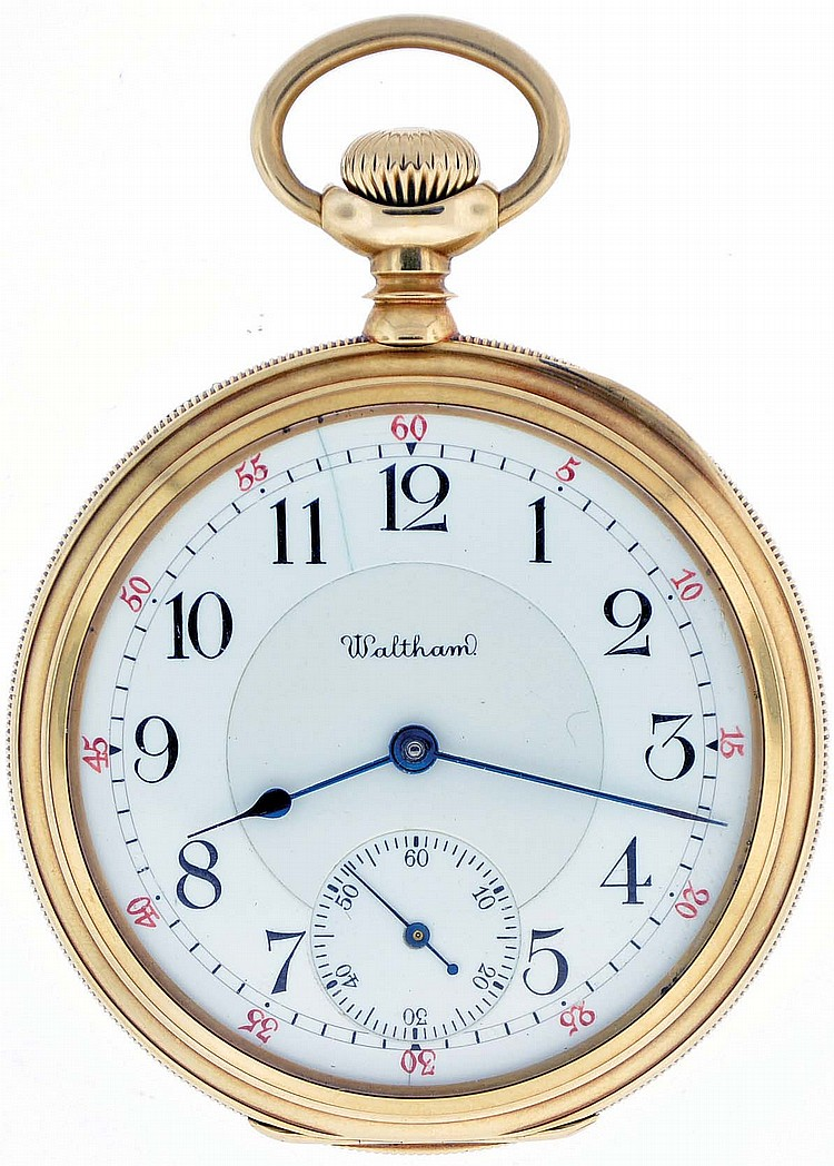 American Waltham Watch Co, Waltham, Mass., model 1899