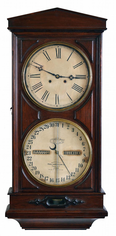 Ithaca Calendar Clock Co., Ithaca, NY,