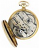 Switzerland, for D. C. Jaccard & Co., St. Louis, Mo., lady's gold pocket watch, 15 jewels, key wind and set, damascened nickel bar movement with lever escapement in an 18 karat, yellow gold, engraved, hunting case with retailer's details engraved on