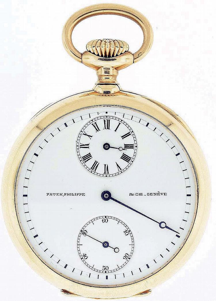 31cf39d5a Patek, Philippe & Cie., Geneva, Switzerland, man's pocket watch with  regulator