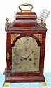 C.1790, English, George III Mahogany bracket clock
