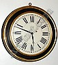 C.1850, Brewster & Ingrahams, Dial Clock, 8-day
