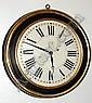 C.1850, Brewster & Ingrahams, Dial Clock, 8-day