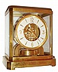 LeCoultre, Switzerland, Atmos clock, gilt calibre